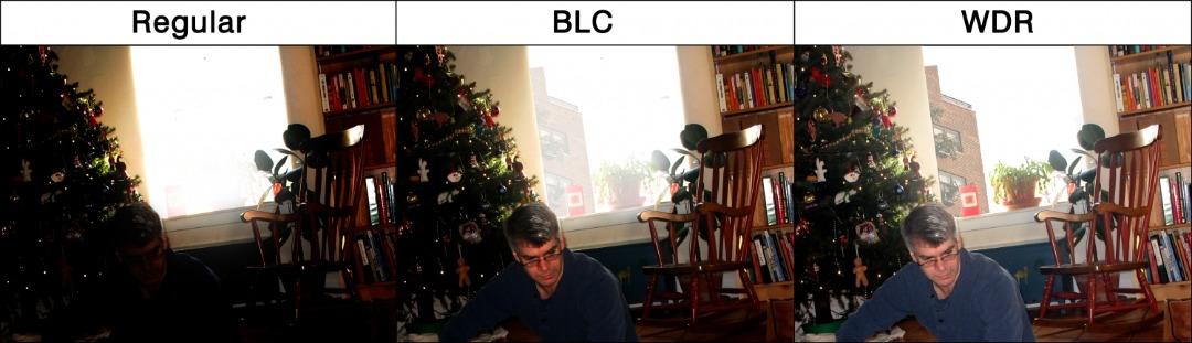 BLC در دوربین مدار بسته