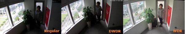 قابلیت WDR در دوربین مدار بسته5