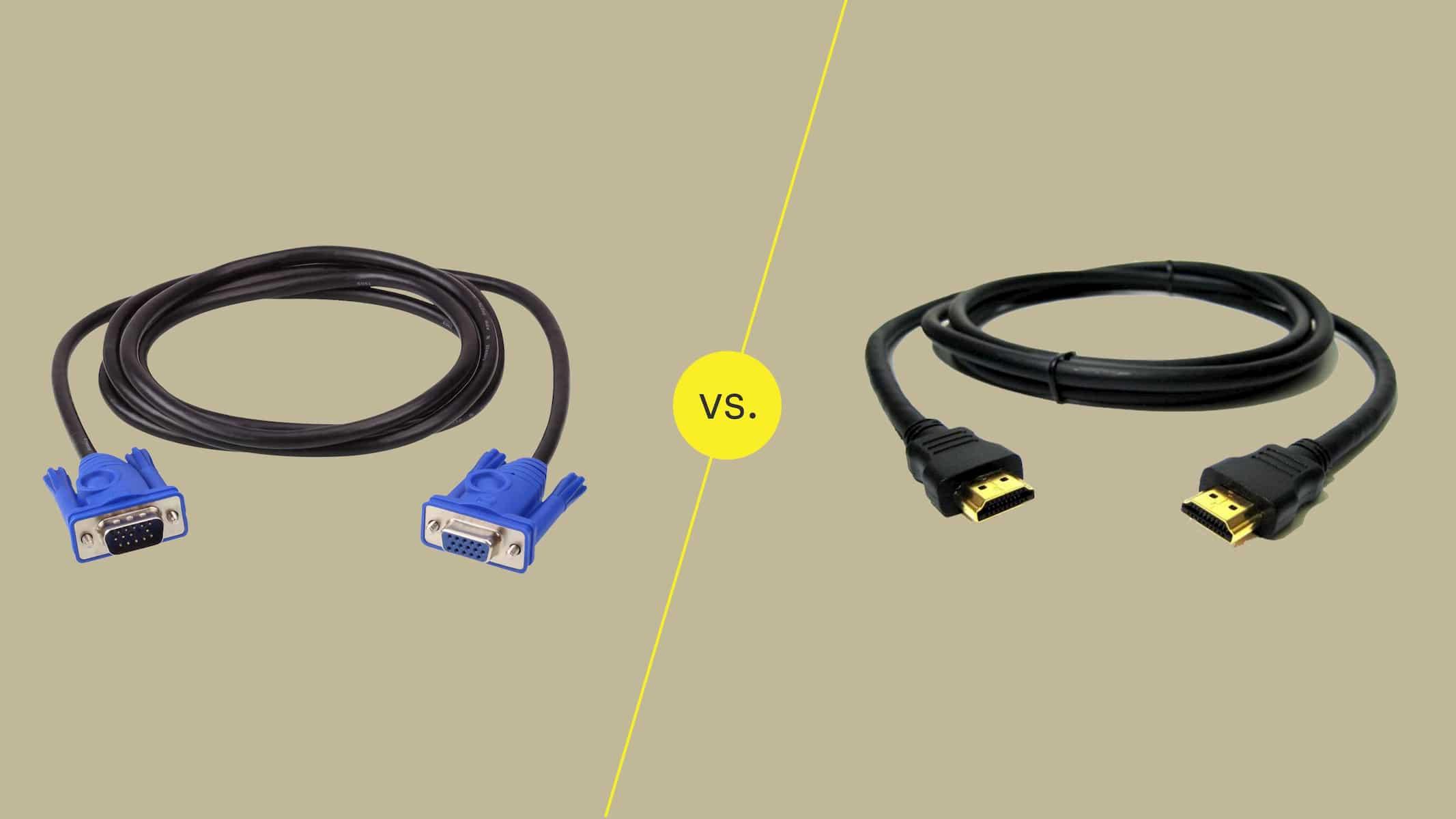 تاریخچه و مقایسه کابل VGA و HDMI