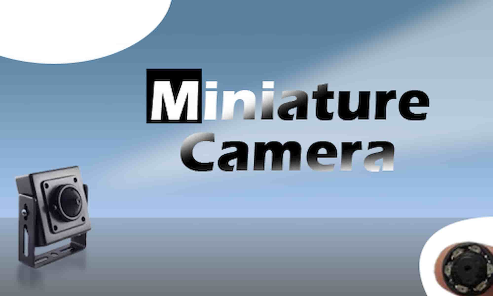 دوربین های مداربسته مینیاتوری ، پین هول یا سوزنی چیست؟
