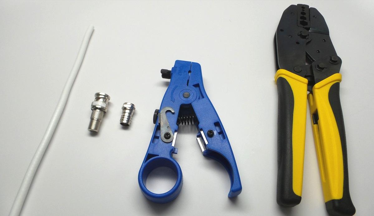 معرفی ابزارهای لازم برای سوکت زدن BNC
