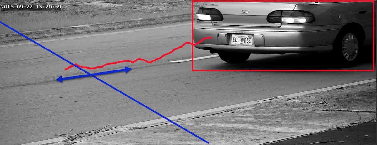 تکنولوژی دوربین مداربسته عبور از خط تعیین شده (Line Crossing)