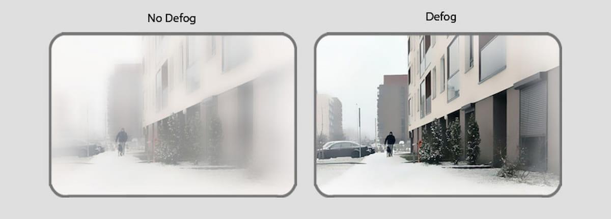 آشنایی با تکنولوژی مه زدایی defog در دوربین مداربسته