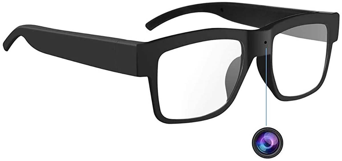 دوربین مداربسته مخفی عینکی
